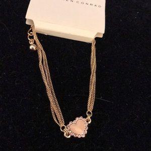 Orange heart bracelet by lc Lauren Conrad